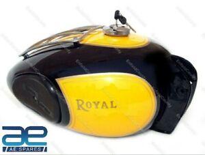 For Royal Enfield Customized Heavy Duty Vintage Large Trail Petrol Fuel Tank ECs