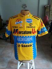 Maillot cycliste vintage Mercatone Uno Medeghini 1994 Saeco Nalini MARCO PANTANI