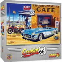 Cruisin' Route 66 Cafe 1000 piece jigsaw puzzle  680mm x 490mm   (mpc)