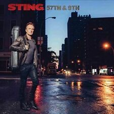 Sting - 57th & 9th (NEW & SEALED Deluxe Edition CD 2016) Digipak