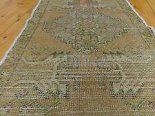 "Decorative Ushak Cr1900-1939s 1'9""×3'3""Gold Natural Dyes  Wool Rug"