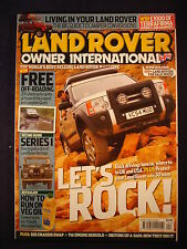 Land Rover Owner LRO # April 2006 - Rock Driving - Veg oil - Series 1 - Campers