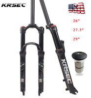 "1-1/8 MTB Bicycle Ultralight Air Suspension Fork 26/27.5/29"" Mountain Bike 120mm"