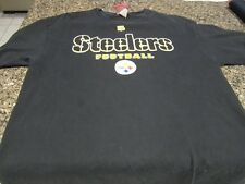 Pittsburgh Steelers T-Shirt - Black - Large