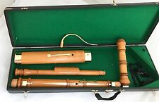 German six keyed Baroque Bassoon by MOECK after Denner, 440Hz - Mint