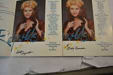 RARE DEBBIE REYNOLDS 2 SOUVENIR PROGRAM One signed Born name of  MARY FRANCES