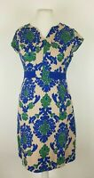 Boden Retro Baroque Tapestry Jacquard Fitted Wiggle Pencil Dress UK 12 R