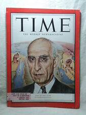 TIME Magazine January 7 1952 MOHAMMED MOSSADEO of Iran MAN OF THE YEAR