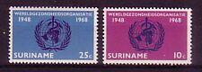 Suriname Michel numero 538 - 539 post freschi