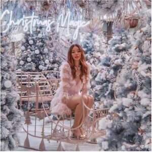 "ALICE MCCALL ""FOILED ZEN"" stunning ballet pink beige layered dress 10"