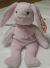 TY Beanie Babies, Floppity the Bunny (retired 1998) - with red hang tags