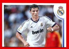 REAL MADRID 2012-2013 Panini - Figurina-Sticker n. 171 - RONALDO 1/2 -New