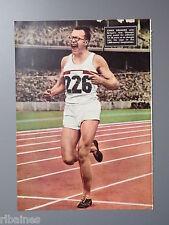 EX Magazine Picture/Print, Chris Brasher Athlete, Olympic Gold Medalist