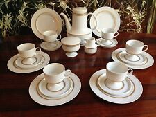 ROSENTHAL COMPOSITION Goldbordure 21tlg Kaffeeservice / 6 Personen T. WIRKKALA