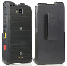 Black Belt Clip Holster Case Stand for Sonim XP8 Phone XP8800