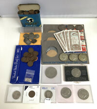 U.S. COINS SILVER BUFFALO BARBER WHEAT CENT KENNEDY HALF PROOF JUNK DRAWER LOT