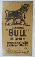 Vintage 1921 Bull Durham Tobacco Newspaper Advertising Ad Fridge Magnet
