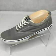 Sperry Top Sider Halyard Boat Shoes Sz 10 Slip-On Canvas Sneaker 0772913 Mens