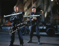 CHUCK NORRIS 'The Delta Force' Signed Autographed 11x14 Photo H