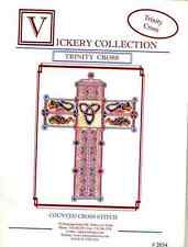Vickery Collection Trinity Cross - Celtic Cross Stitch Pattern
