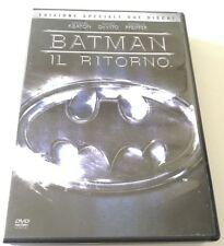 BATMAN IL RITORNO ED.SPECIALE 2 DVD (TIM BURTON) FILM ITALIANO PERFETTO VENDITA