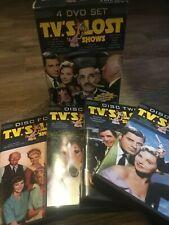 TV's Lost Shows 4 DVD Boxed Set 2004 Lassie Mannix Checkmate, Hitchcock