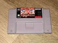 Super Street Fighter II 2 Super Nintendo Snes Cleaned & Tested Authentic