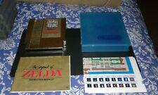 The Legend of Zelda, Original Nintendo NES Game, case. Manual & Map GOLD