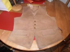 Well Used 1920s Hammond & Co Field Waistcoat with V.W.H Brass Buttons