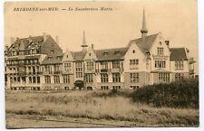 CPA - Carte Postale - Belgique - Bredene sur Mer - Le Sanatorium Maria - 1923 (