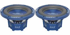 """NEW(2) 8"""" DVC SubWoofer Speakers.bass sub woofer PAIR.Dual 4ohm voice coil.8inch"""