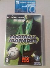 FOOTBALL MANAGER 2007 - NUOVO SIGILLATO - PC/MAC CD-ROM