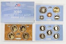 2010 14 pc UNITED STATES GEM CAMEO PROOF SET w/COA & Packaging