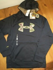 Under Armour Mens Camo Hoodie--NWT--Realtree Storm--SHIPS OUT FAST!!