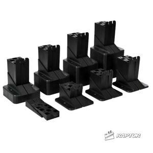 Raptor Adjustable Decking Pedestals & Supports - 15-125mm - Fast Delivery
