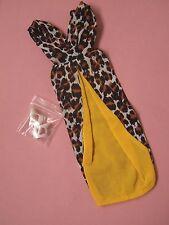 Vintage Mod era 1969 Barbie ocio Leopardo #1479 Conjunto Completo