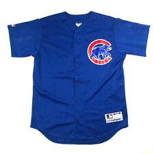 Majestic Chicago Cubs Mens M MLB Baseball Jersey Schleicher 1946 Minor Leaguer