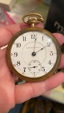 Vintage Washington Watch Co. Pocket Watch with a Gibraltar case