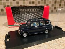 Fiat 500 Giardiniera Black Brumm 1:43 R424-06 Model Car Diecast
