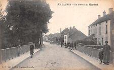 LES LAUMES COTE d'OR FRANCE~en ARRIVANT de MONTBARD POSTCARD 1919