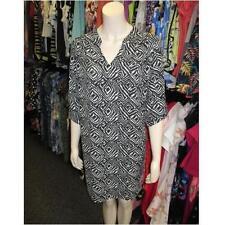 Wallis Polyester V-Neck 3/4 Sleeve Dresses for Women