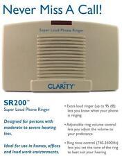 Telephone Ringer Loud 95dB with Phone Flasher Visual Flashing Light Notifier