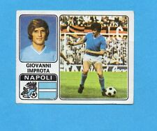 FIGURINA PANINI 1972/73-n.235- IMPROTA - NAPOLI -Recuperata
