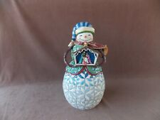 Share the Story of Christmas Nativity Snowman Figurine 4027711 Jim Shore 2001