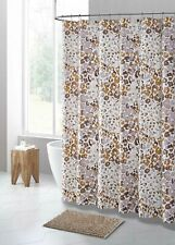 Cheetah Animal Print PEVA Shower Curtain Liner Odorless, PVC & Chlorine Free
