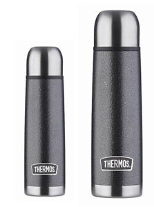 Thermos Hammertone Stainless Steel Flask Two Pack 1L & 0.5L [TH2]