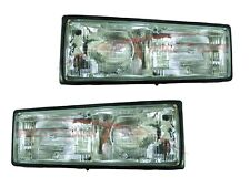 For 1987-1990 Chevrolet Caprice Head Lights Lamps Driver & Passenger Side LH+RH