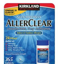 UPC 096619529681 product image for Kirkland Signature Non-Drowsy AllerClear Antihistamine 10mg 365 Tablets EXP 4/22 | upcitemdb.com