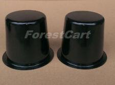 Golf Cart Wheel Dust Cap Pair,EZGO,Clubcar,Steel Center Wheel Cap Dust Cover