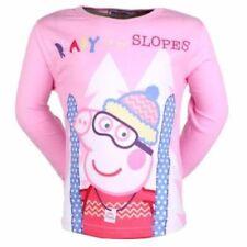 Camisetas y tops de niña de 2 a 16 años de manga larga color principal rosa 100% algodón